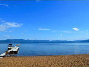 猪苗代湖(志田浜)