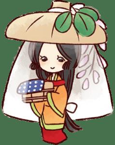 はぎ姫イラスト