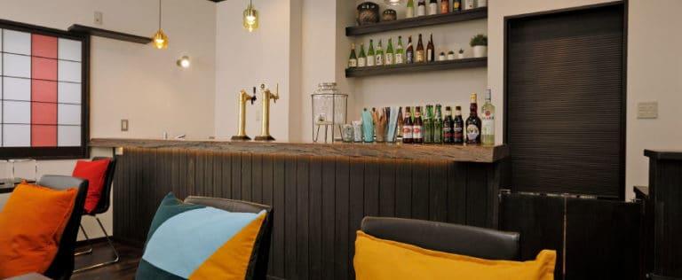 湯kori(ゆこり)カフェ&バー スペース