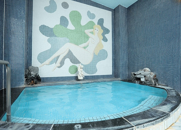 湯koriの大浴場